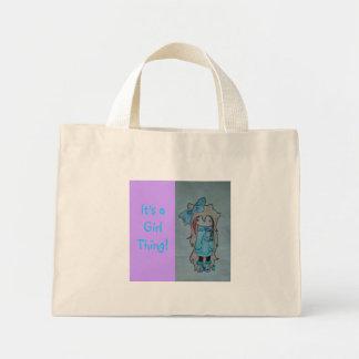 Cutie Girl Handbag Mini Tote Bag