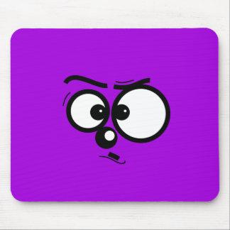 Cutie hace frente - a Mousepad púrpura Alfombrilla De Raton