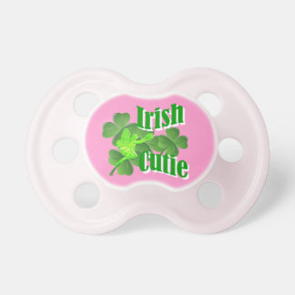 Cutie irlandés chupetes