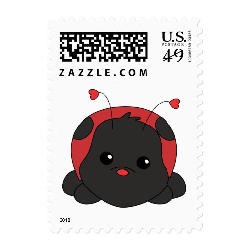 Cutie Lady Bug Stamp | Zazzle