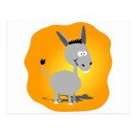 Cutie little Donkey Postcard