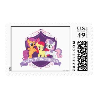 Cutie Mark Crusaders Crest Stamp