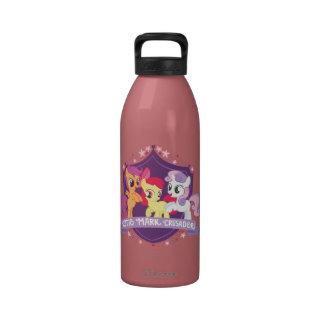 Cutie Mark Crusaders Crest Reusable Water Bottles