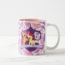 Cutie Mark Crusaders Crest Two-Tone Coffee Mug