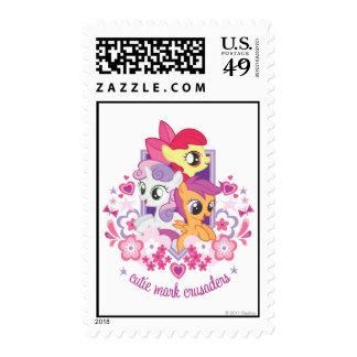 Cutie Mark Crusaders Script Stamps