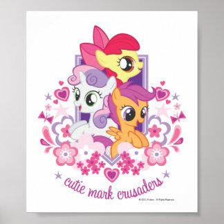 Cutie Mark Crusaders Script Poster