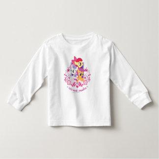 Cutie Mark Crusaders Script Toddler T-shirt