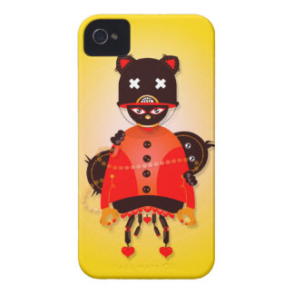 Cutie Monsters 1 - iPhone 4 case