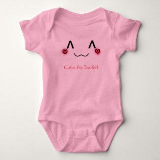 Cutie pa tootie baby onsie baby bodysuit