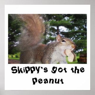 cutie patatootie, Skippy's got the peanut poster