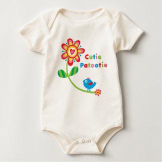 Cutie Patootie Baby Bodysuit
