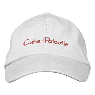 Cutie-Patootie Gorra De Béisbol Bordada
