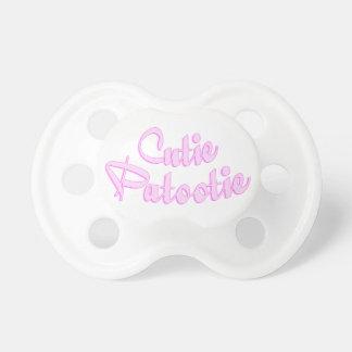 Cutie Patootie Pacifier