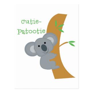Cutie- Patootie Postal