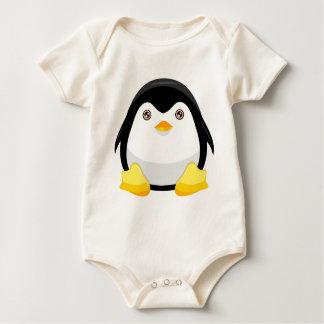 Cutie Penguin Baby Bodysuit