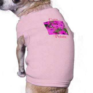 """""""Cutie Petutie"""" Doggie Tee"""