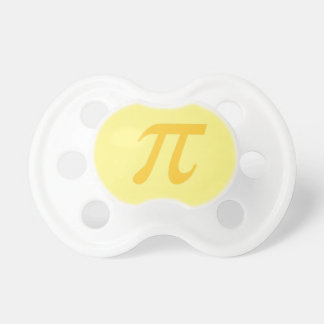cutie pi binky - yellow & gold pacifier