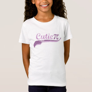 Cutie Pi Geek Girl Funny T-Shirt