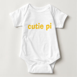 cutie pi infant romper - yellow & gold
