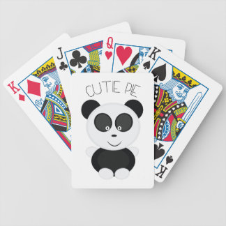Cutie Pie Bicycle Playing Cards
