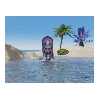 Cutie Pie Collection beach life Poster