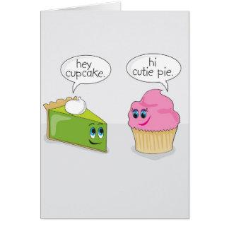 Cutie Pie / Cupcake Valentine's Day Card