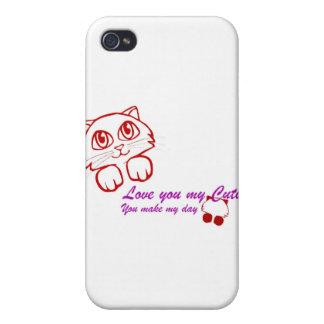 Cutie Pie iPhone 4 Cases