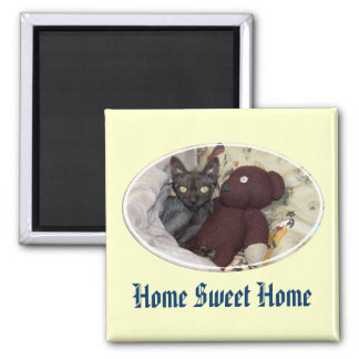 "Cutie-pie Magnet ""Home Sweet Home"""