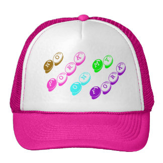 Cutie Pie - No Pork On My Fork Cap Trucker Hat