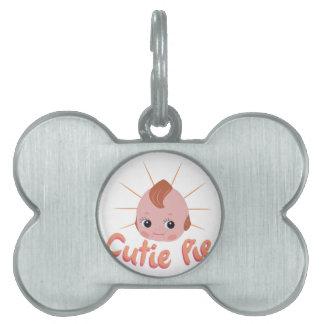 Cutie Pie Pet Name Tag