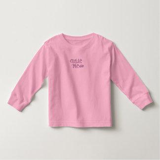 cutie pie pinky toddler t-shirt