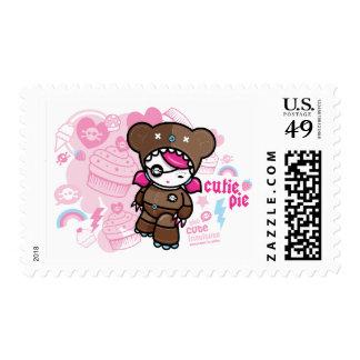 cutie pie postage stamps