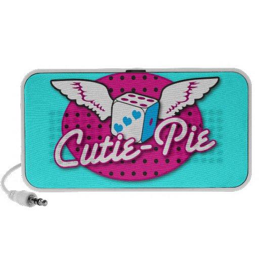 Cutie Pie rockabilly design NP Portable Speaker