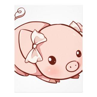 Cutie Pig Letterhead