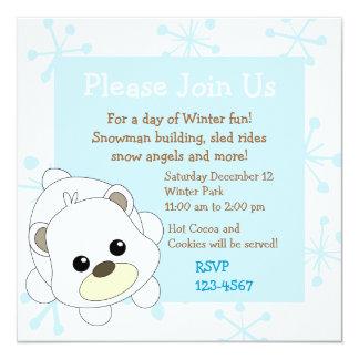 Cutie Polar Bear Card