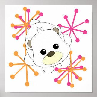 Cutie Polar BEar Print