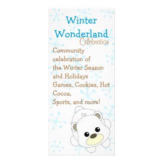 Cutie Polar Bear Rack Card