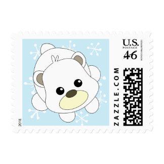 Cutie Polar Bear Stamps