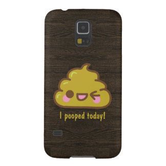 Cutie poo - I pooped today! Cases For Galaxy S5