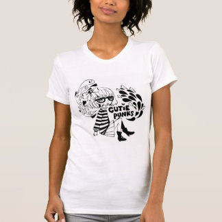 Cutie Punks Megane Girl with Ghosts Tee
