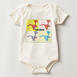 Cutie-raptor Baby Bodysuit