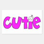 Cutie Rectangular Stickers