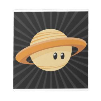 Cutie Saturn Notepad