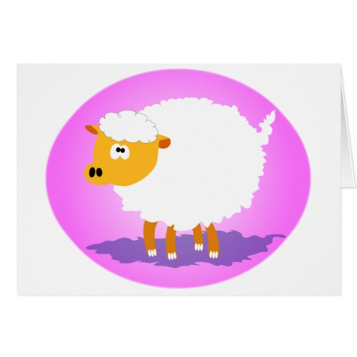 Cutie Sheep Greeting Cards