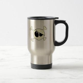 Cutie skull pirate travel mug