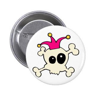 Cutie Skulls Jester Pins