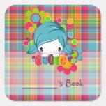 Cutie Square Sticker
