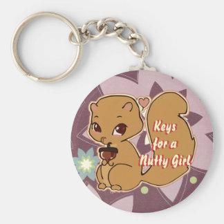 Cutie Squirrel Keychain