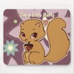 Cutie Squirrel Mousepad