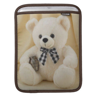 Cutie Stuffed Teddy Bear iPad iPad Sleeve